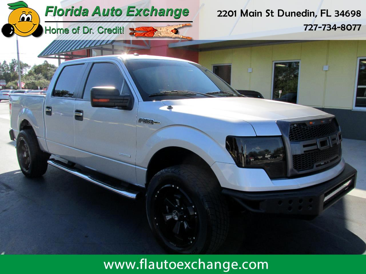 "Ford F-150 2WD SuperCrew 145"" XLT 2013"