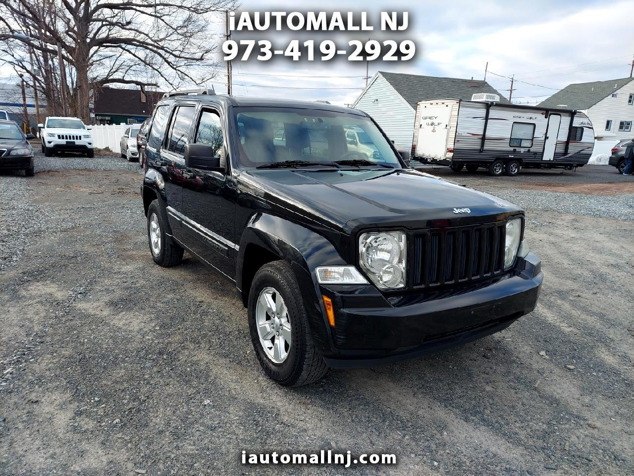 Jeep Liberty 4WD 4dr Sport 2012