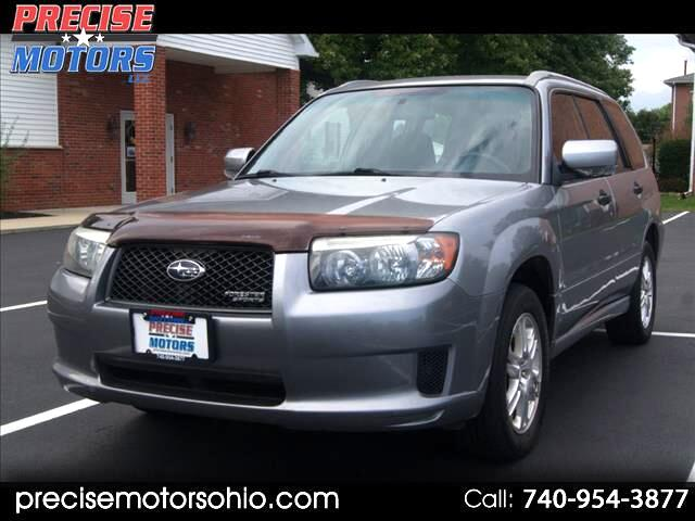 2008 Subaru Forester (Natl) 4dr Auto Sports X