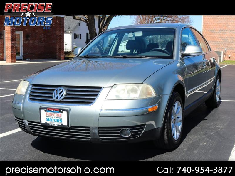 2004 Volkswagen Passat Sedan 4dr Sdn GLS Manual