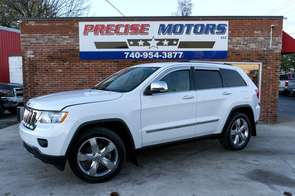 Jeep Grand Cherokee 4WD 4dr Overland 2013