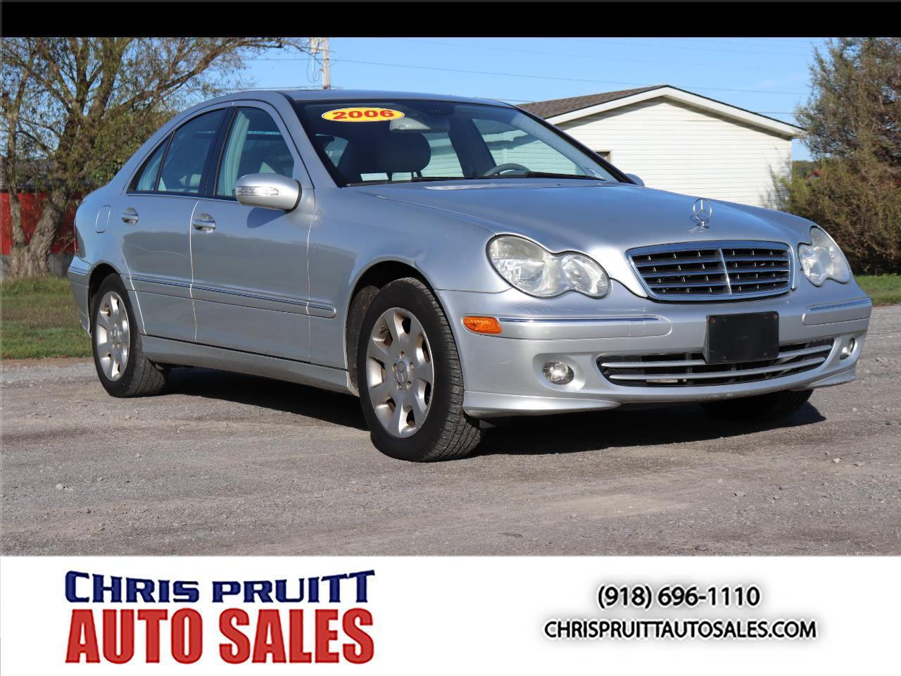 2006 Mercedes-Benz C-Class 4dr Luxury Sdn 3.0L