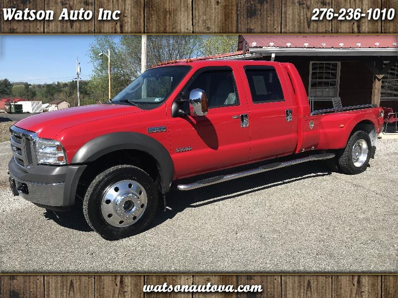 2005 Ford F-450 SD Crew Cab 4WD DRW