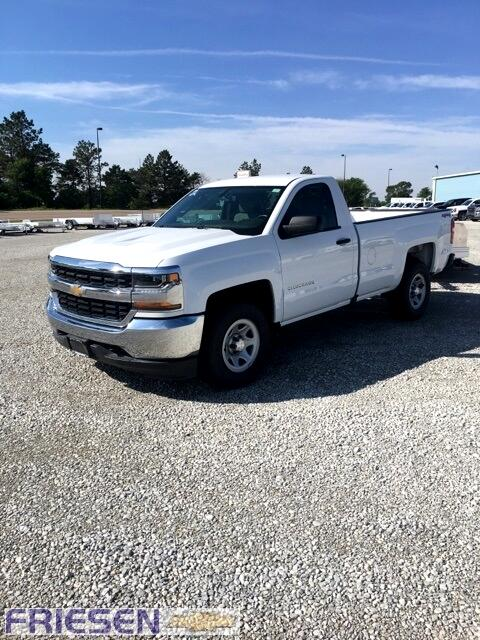 2018 Chevrolet Silverado 1500 Work Truck Long Box 4WD