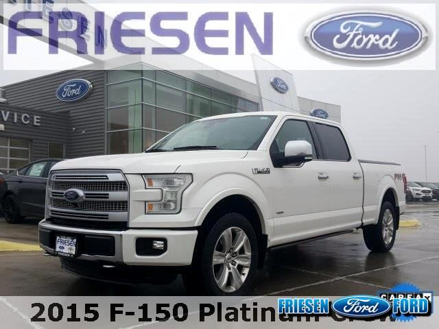 2015 Ford F-150 SuperCrew Platinum
