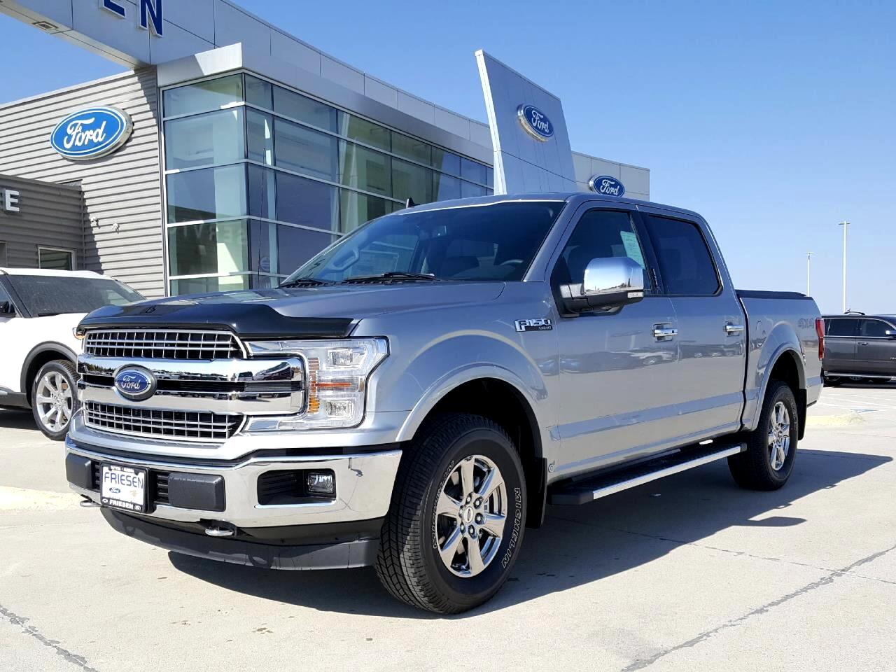 Ford F-150 Lariat SuperCrew 6.5-ft. Bed 4WD 2020