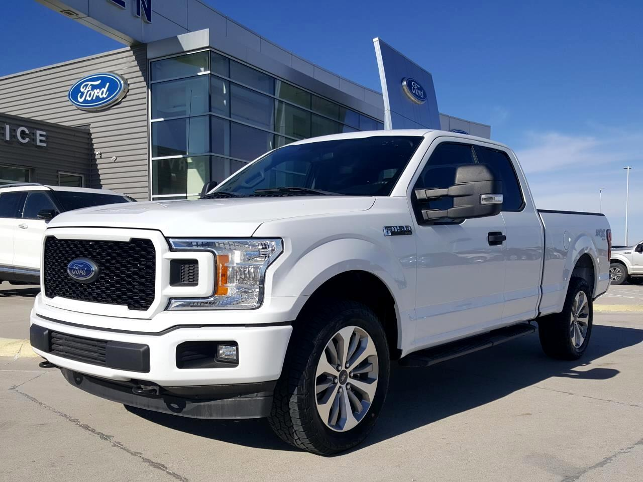 Ford F-150 XL SuperCab 8-ft. Bed 4WD 2018