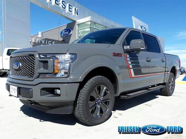 2018 Ford F-150 Lariat SuperCrew FX4 Sport