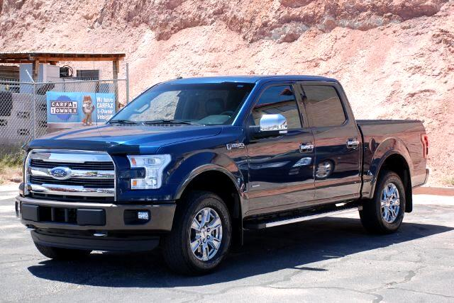 2016 Ford F-150 Lariat SuperCrew 6.5-ft. Bed 4WD
