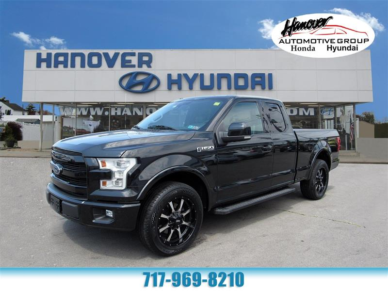 2015 Ford F-150 Lariat SuperCab 8-ft. 2WD