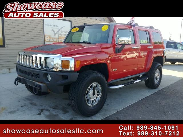 used 2006 hummer h3 sport utility for sale in chesaning mi 48616 showcase auto sales. Black Bedroom Furniture Sets. Home Design Ideas