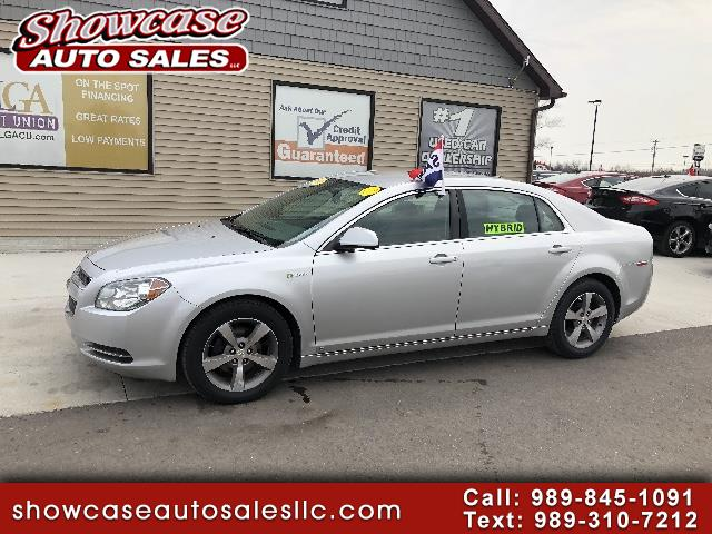 used 2009 chevrolet malibu hybrid sedan for sale in chesaning mi 48616 showcase auto sales. Black Bedroom Furniture Sets. Home Design Ideas