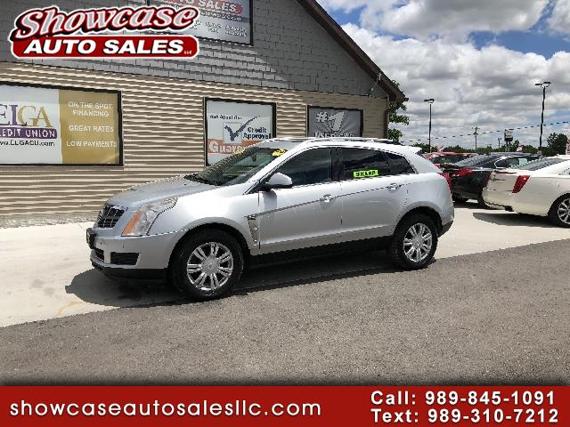 used 2010 cadillac srx luxury collection for sale in chesaning mi 48616 showcase auto sales. Black Bedroom Furniture Sets. Home Design Ideas