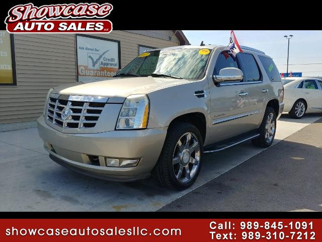 used 2007 cadillac escalade awd for sale in chesaning mi 48616 showcase auto sales. Black Bedroom Furniture Sets. Home Design Ideas