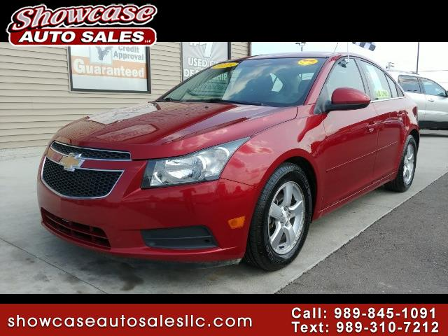 used 2013 chevrolet cruze 1lt auto for sale in chesaning mi 48616 showcase auto sales. Black Bedroom Furniture Sets. Home Design Ideas