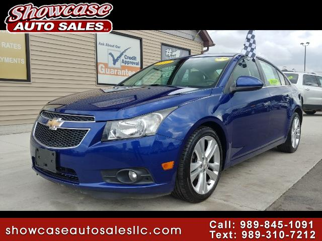 used 2012 chevrolet cruze ltz for sale in chesaning mi 48616 showcase auto sales. Black Bedroom Furniture Sets. Home Design Ideas