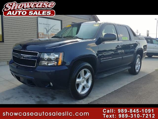 used 2008 chevrolet avalanche 1500 lt for sale in chesaning mi 48616 showcase auto sales. Black Bedroom Furniture Sets. Home Design Ideas