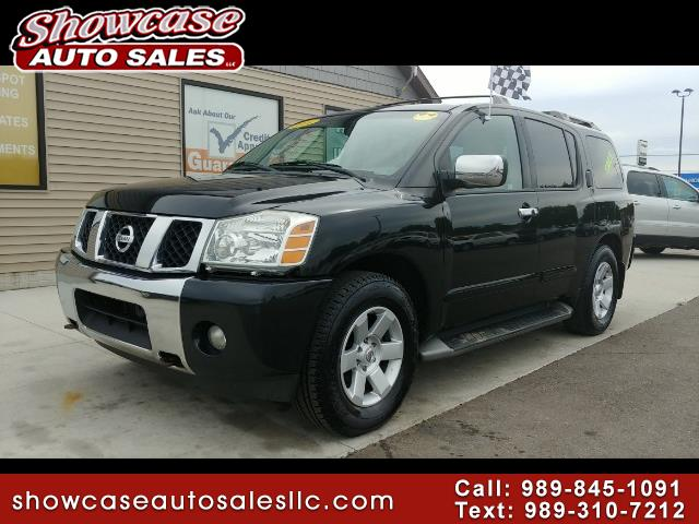 used 2004 nissan armada se 4wd for sale in chesaning mi 48616 showcase auto sales. Black Bedroom Furniture Sets. Home Design Ideas