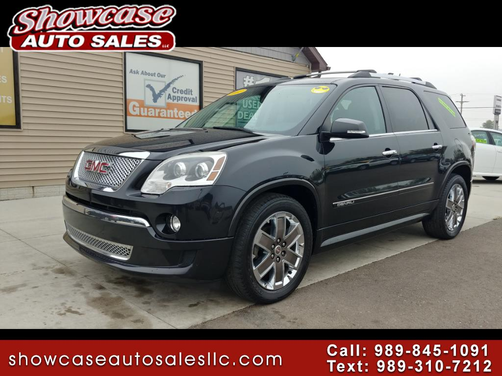 Used Cars For Sale Chesaning Mi 48616 Showcase Auto Sales 2012 Gmc Yukon Fuel Filter Acadia Fwd 4dr Denali