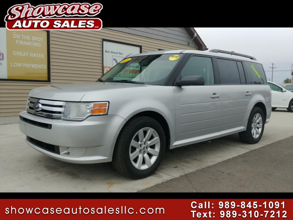 used 2009 ford flex 4dr se fwd for sale in chesaning mi 48616 showcase auto sales. Black Bedroom Furniture Sets. Home Design Ideas