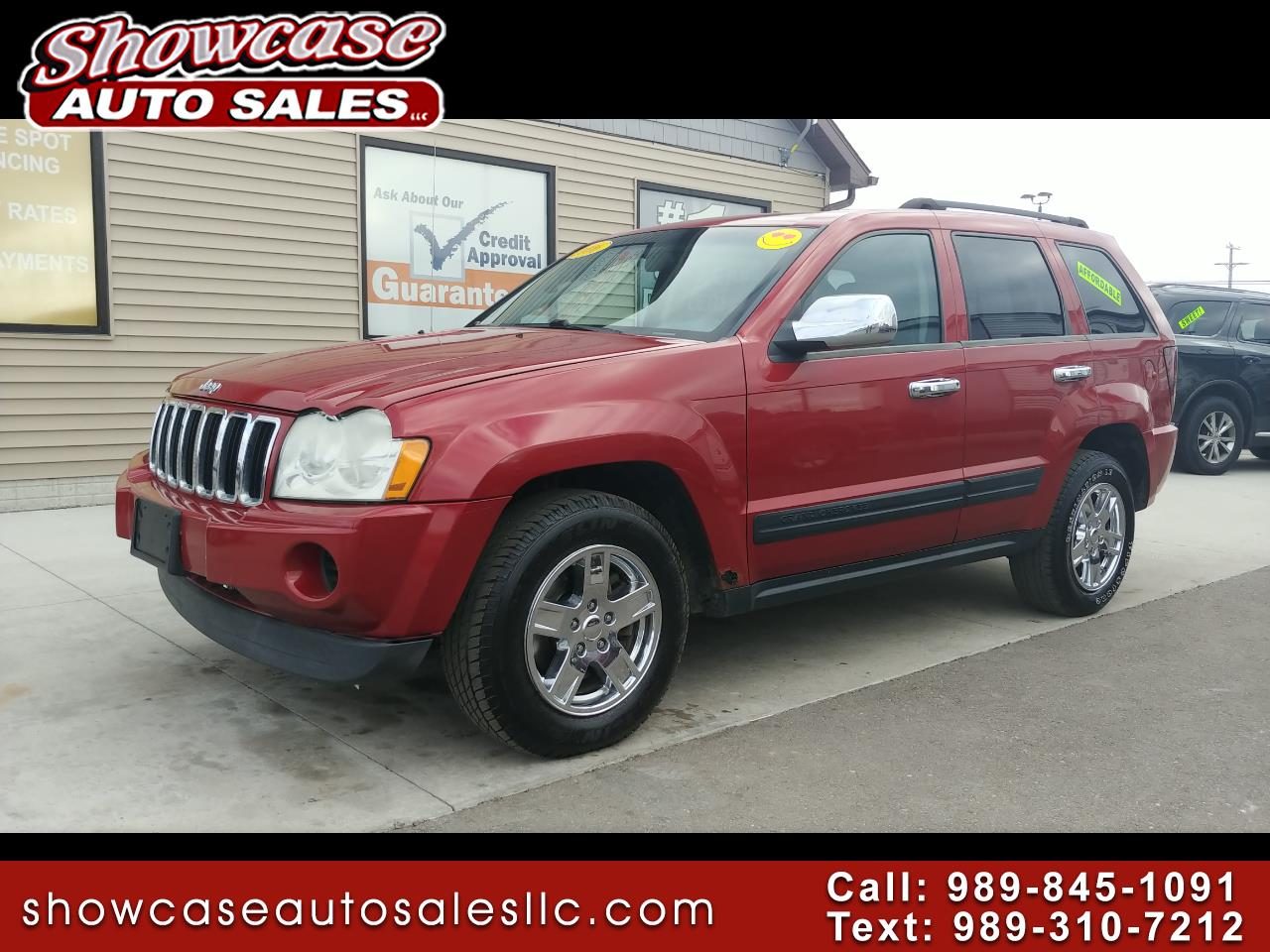 used 2006 jeep grand cherokee 4dr laredo 4wd for sale in chesaning mi 48616 showcase auto sales. Black Bedroom Furniture Sets. Home Design Ideas