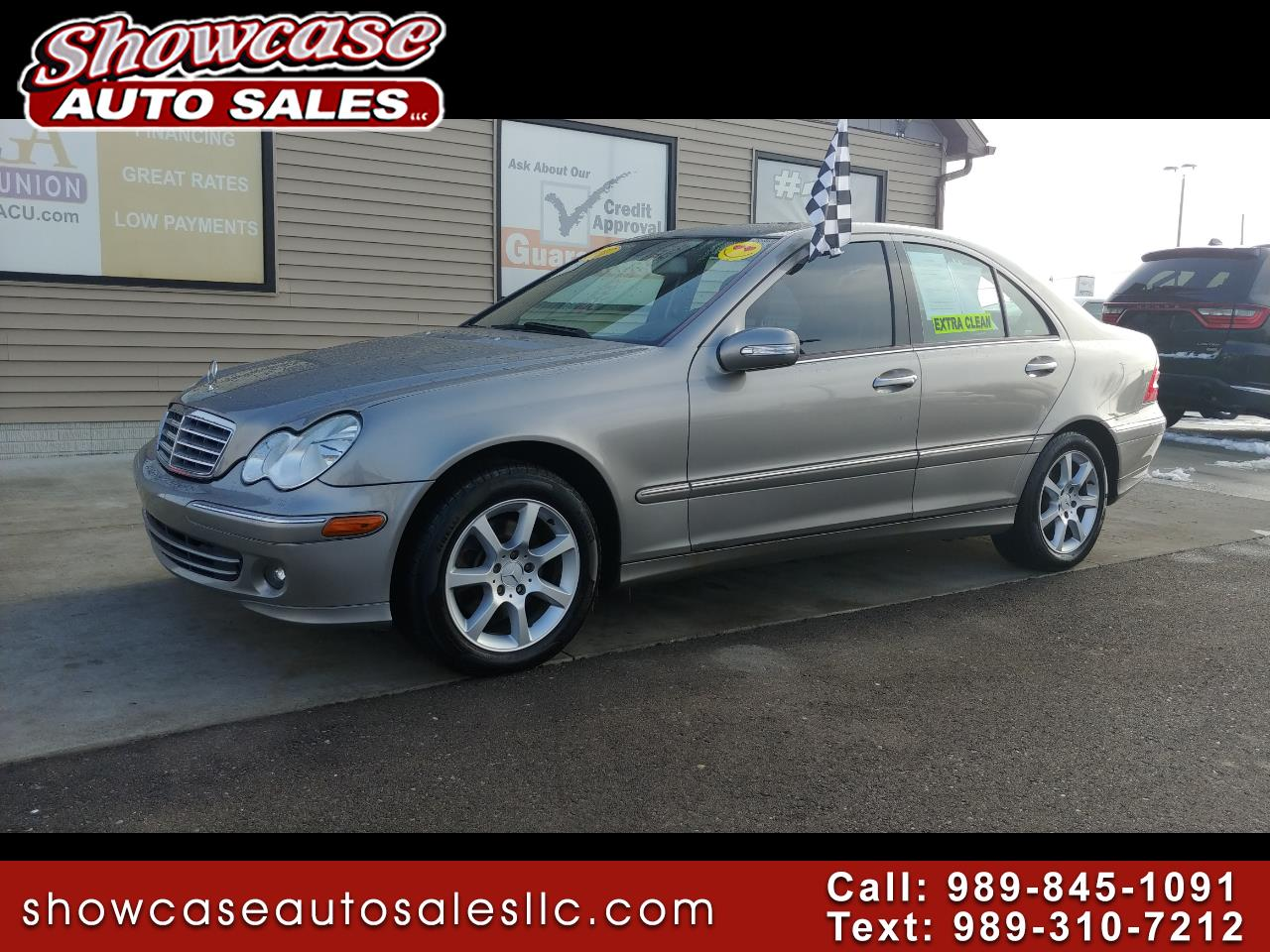 2007 Mercedes-Benz C-Class 4dr Sdn 3.0L Luxury 4MATIC