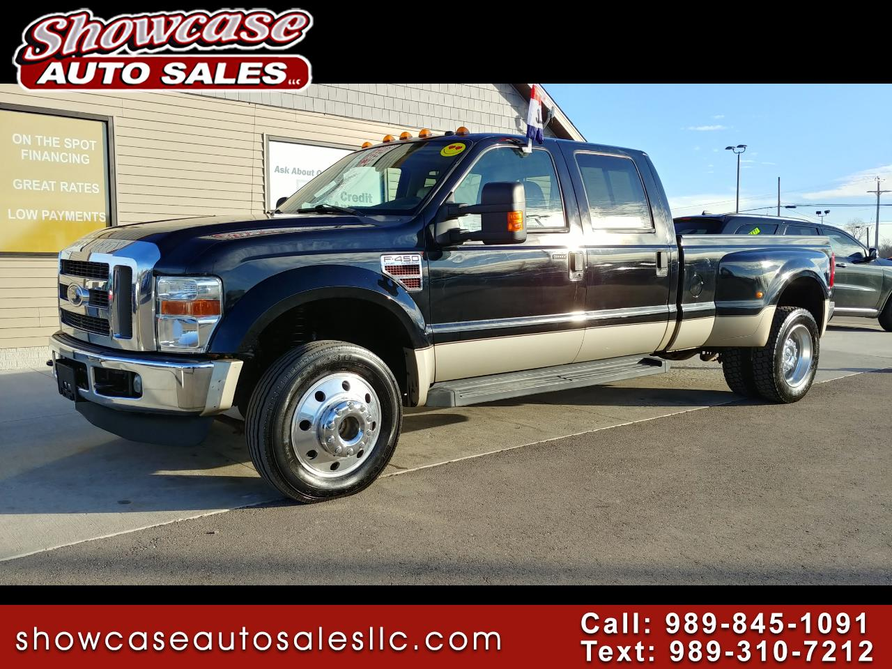 2008 Ford Super Duty F-450 DRW Lariat 4WD Crew Cab 8' Box