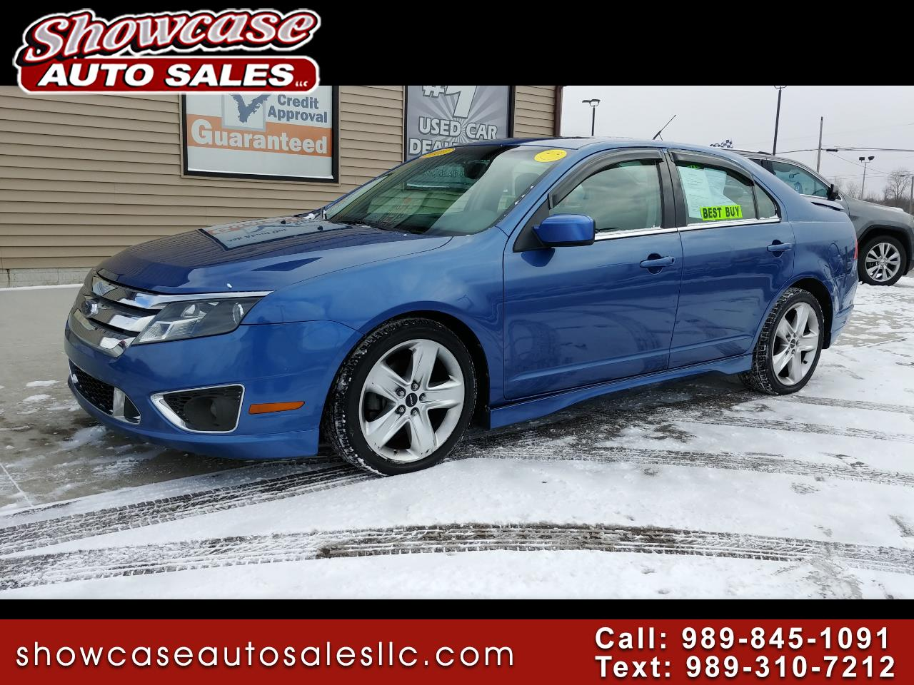 2010 Ford Fusion 4dr Sdn SPORT FWD