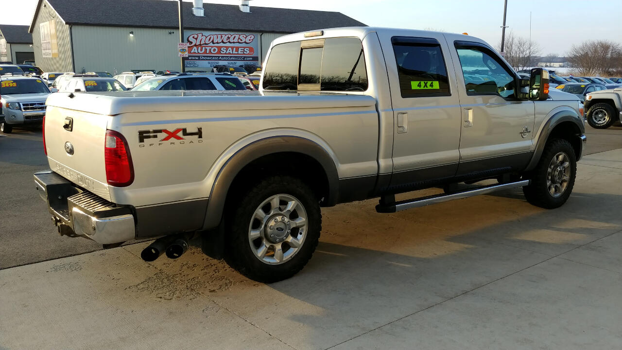 2011 Ford Super Duty F-250 SRW 4WD Crew Cab 156