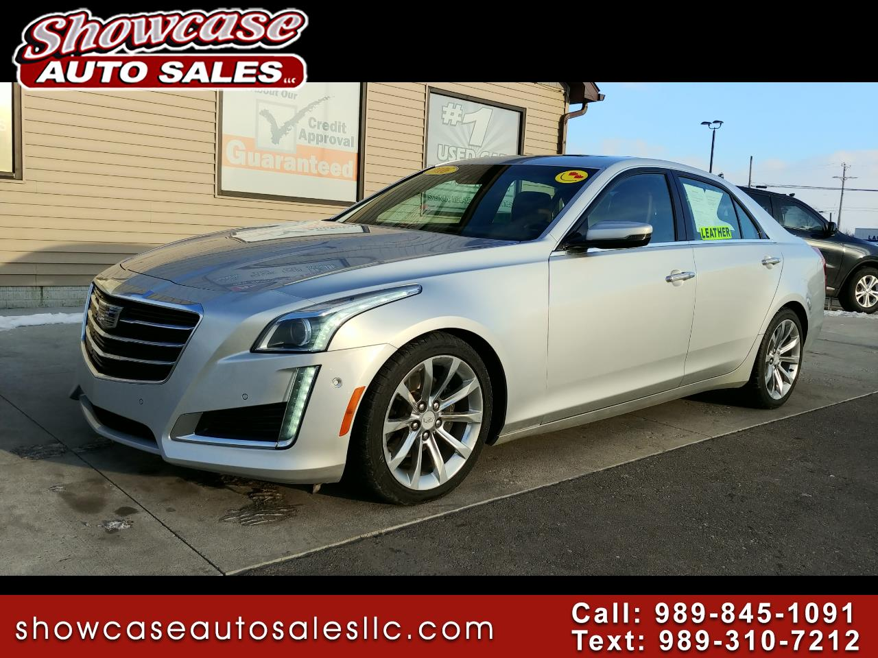 2016 Cadillac CTS Sedan 4dr Sdn 3.6L Premium Collection RWD