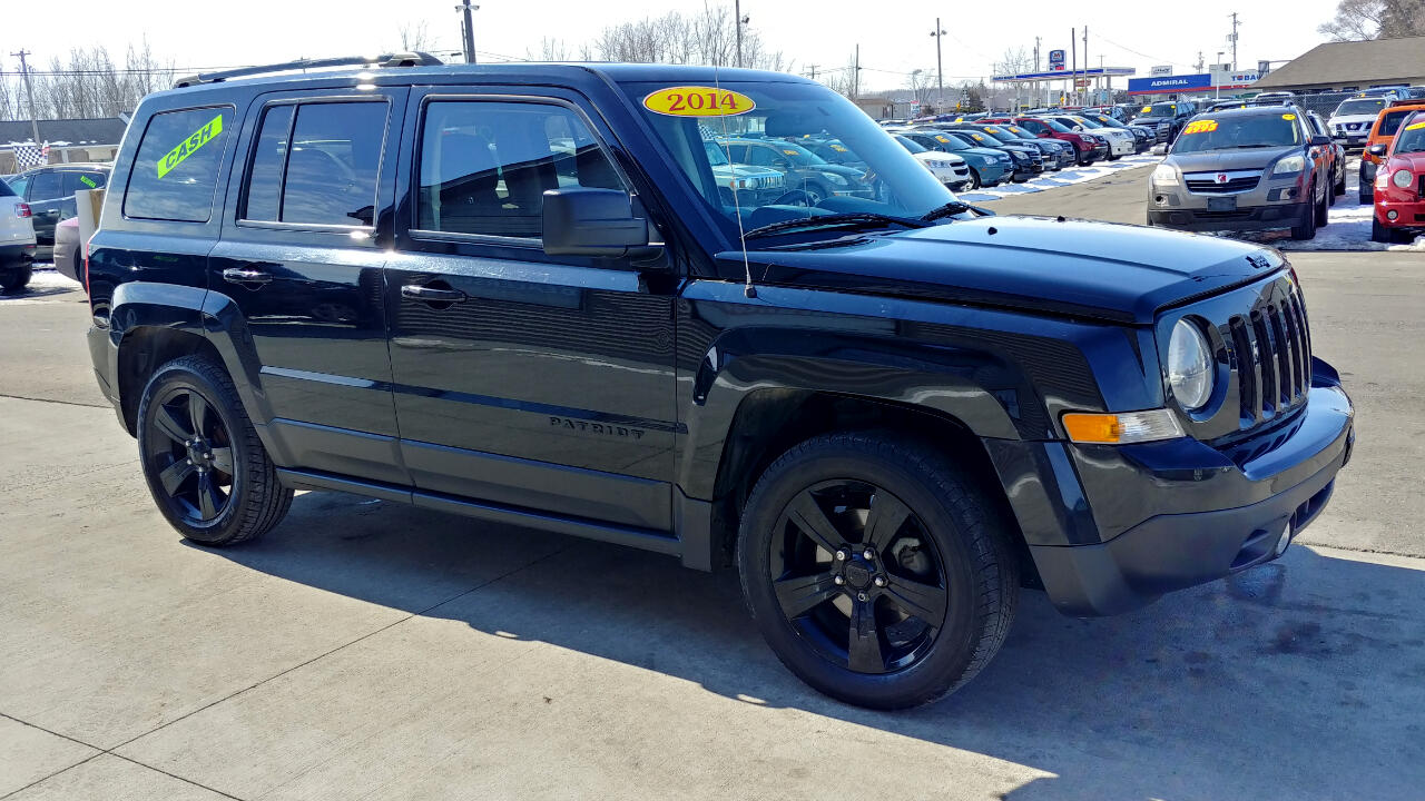 2014 Jeep Patriot FWD 4dr Altitude