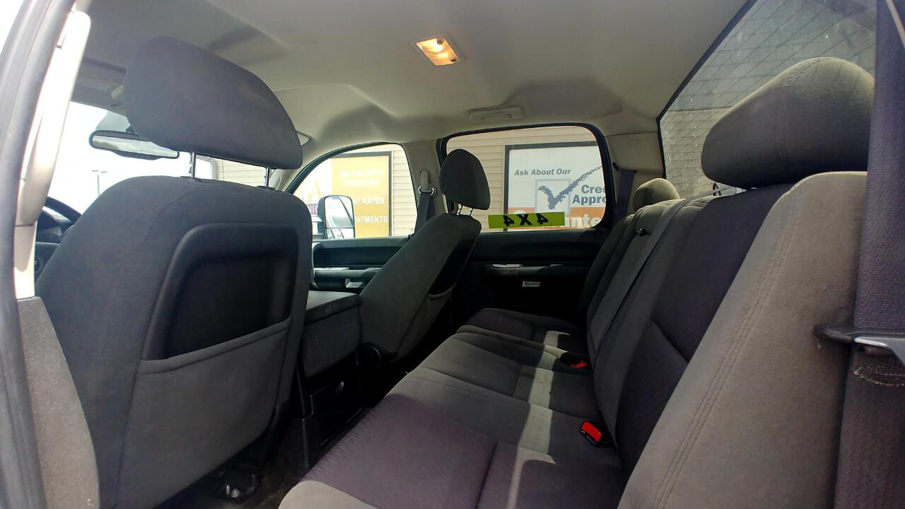 2009 Chevrolet Silverado 2500HD 4WD Crew Cab 153