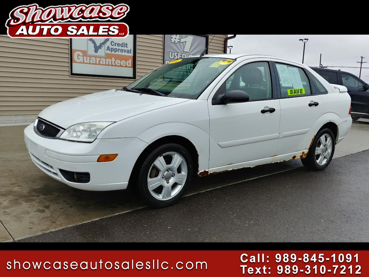 2006 Ford Focus 4dr Sdn ZX4 SES