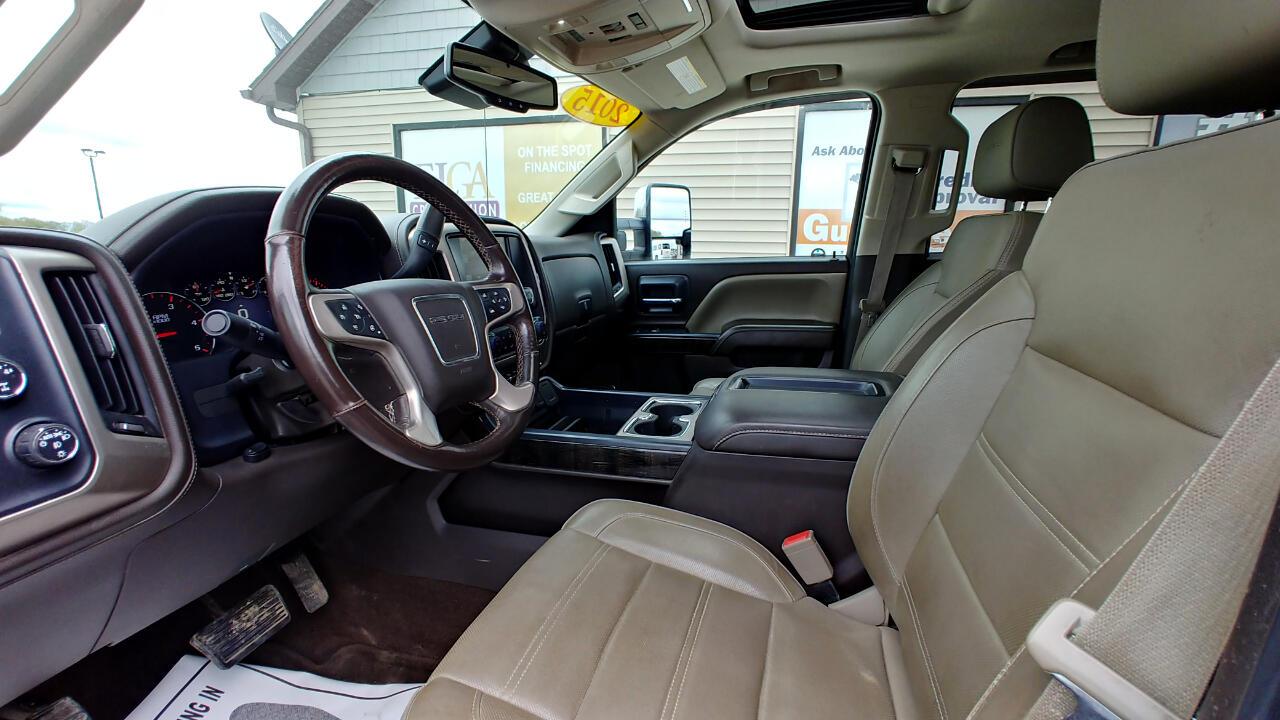2015 GMC Sierra 2500HD 4WD Crew Cab 153.7