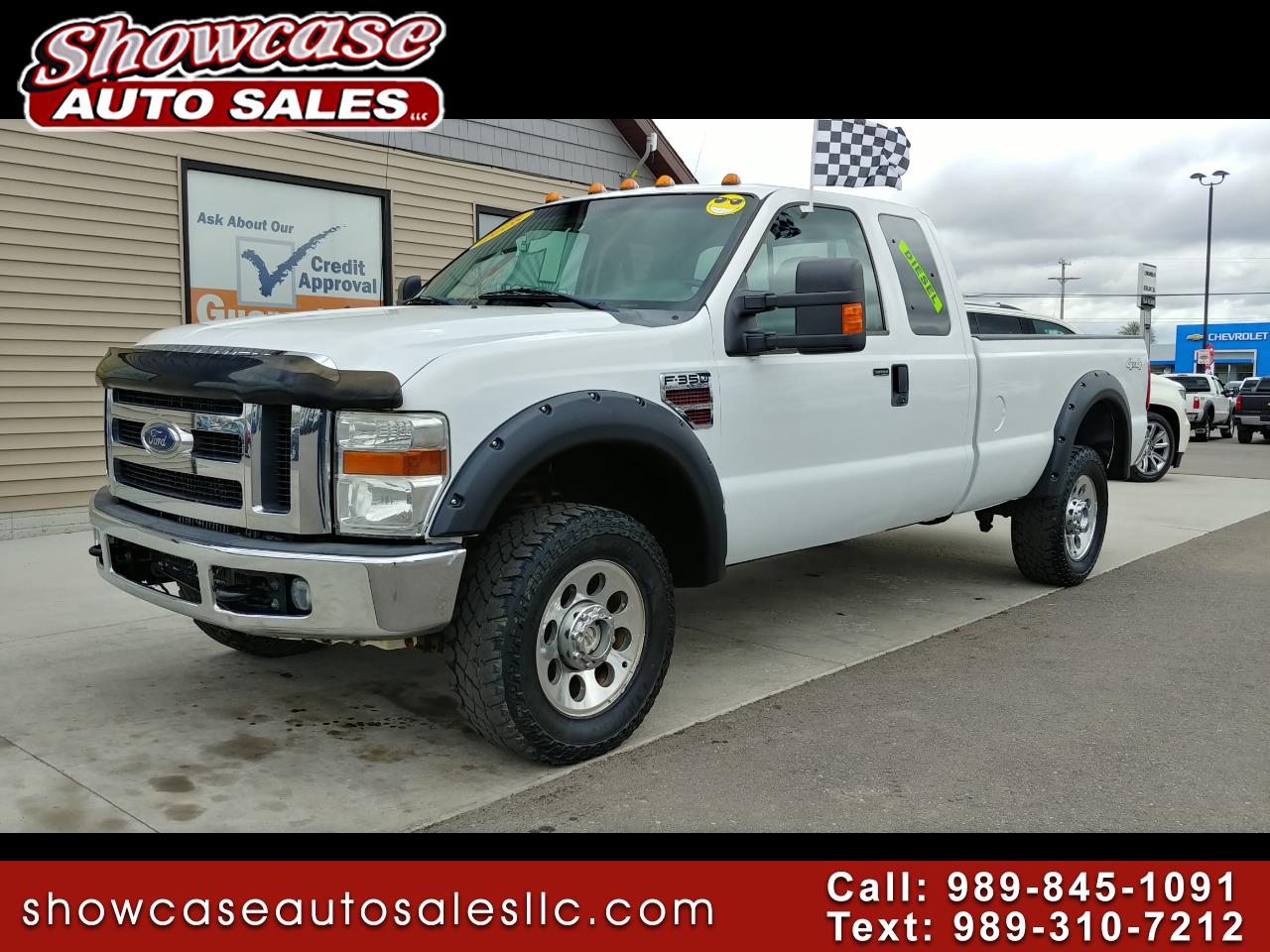 "2008 Ford Super Duty F-350 SRW 4WD SuperCab 158"" XL"