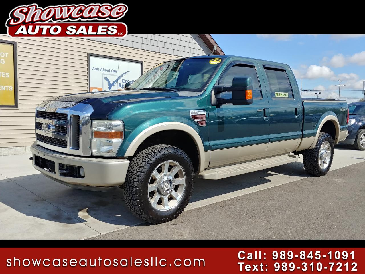 "2008 Ford Super Duty F-350 SRW 4WD Crew Cab 156"" King Ranch"