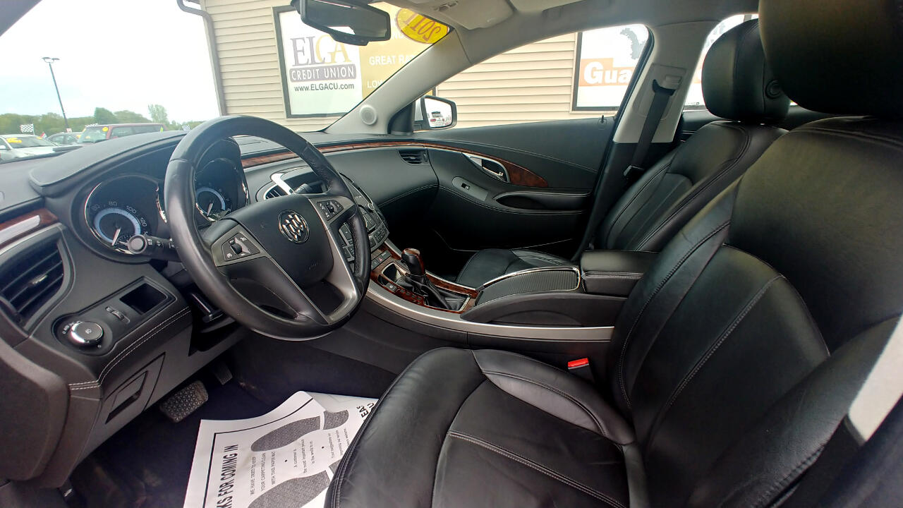 2011 Buick LaCrosse 4dr Sdn CXL AWD