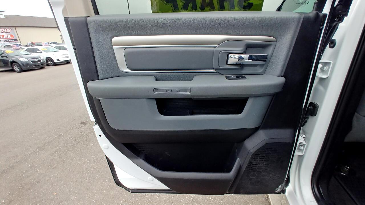2017 RAM 2500 SLT 4x4 Crew Cab 6'4