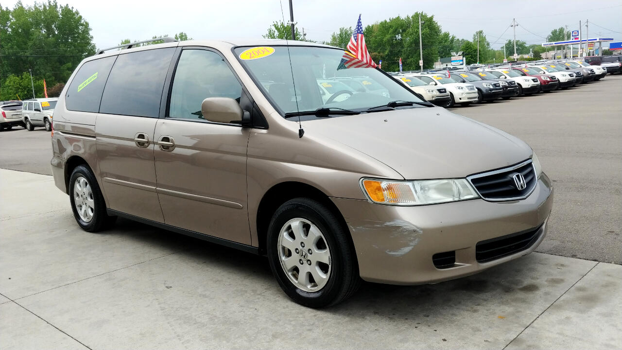 Used 2004 Honda Odyssey 5dr EX-RES w/DVD for Sale in Chesaning MI 48616 Showcase Auto Sales