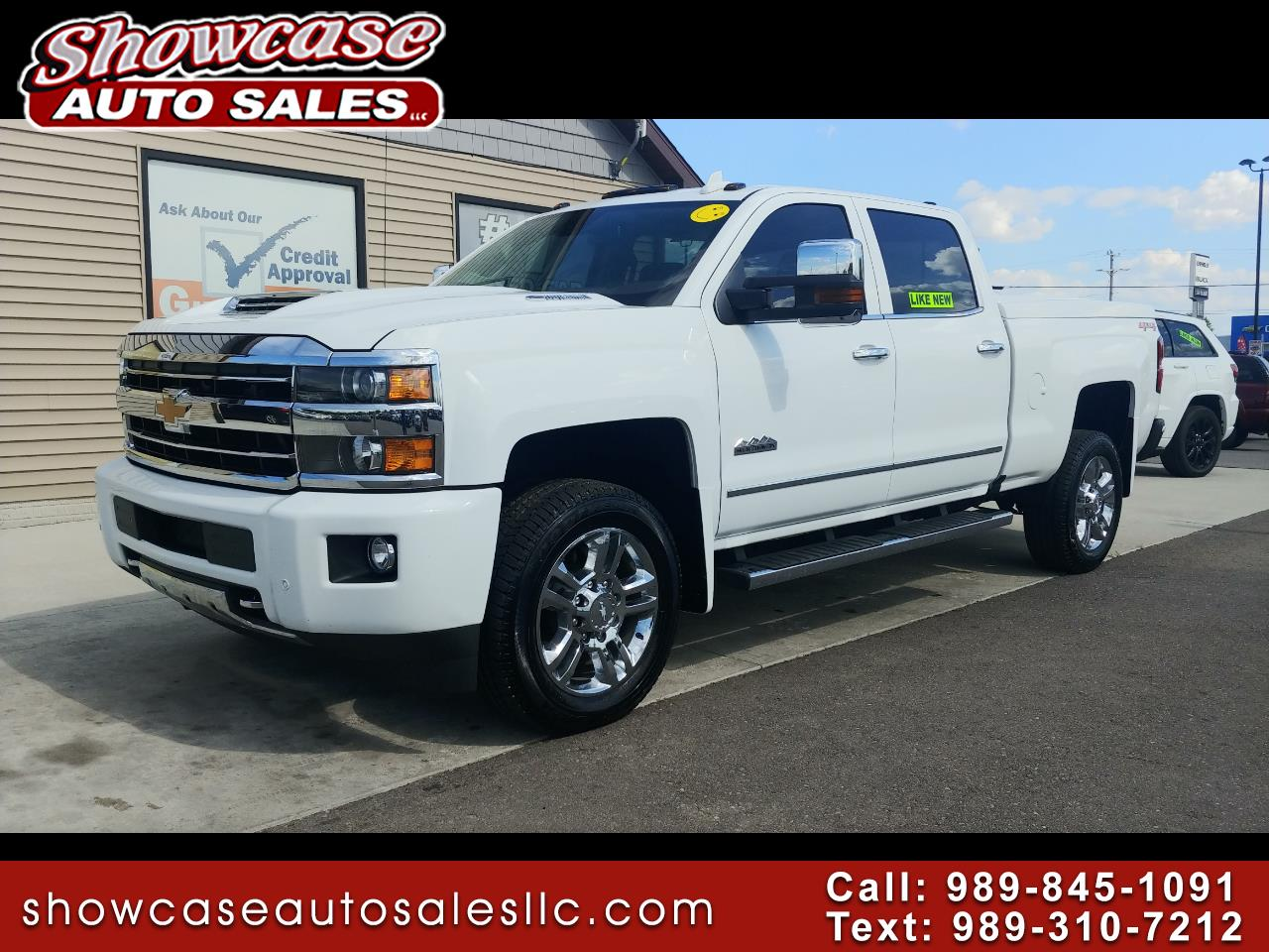 "2018 Chevrolet Silverado 2500HD 4WD Crew Cab 153.7"" High Country"