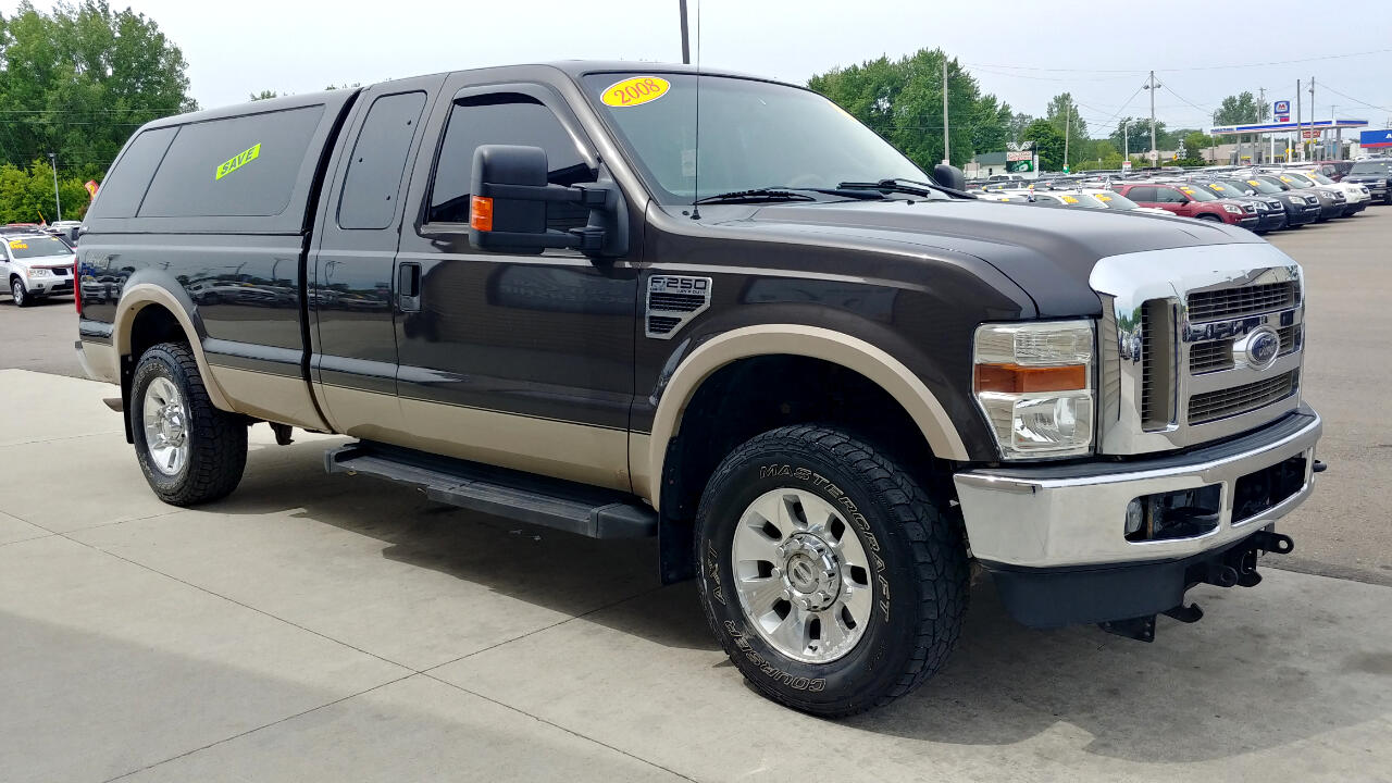 "Ford Super Duty F-250 SRW 4WD SuperCab 142"" Lariat 2008"