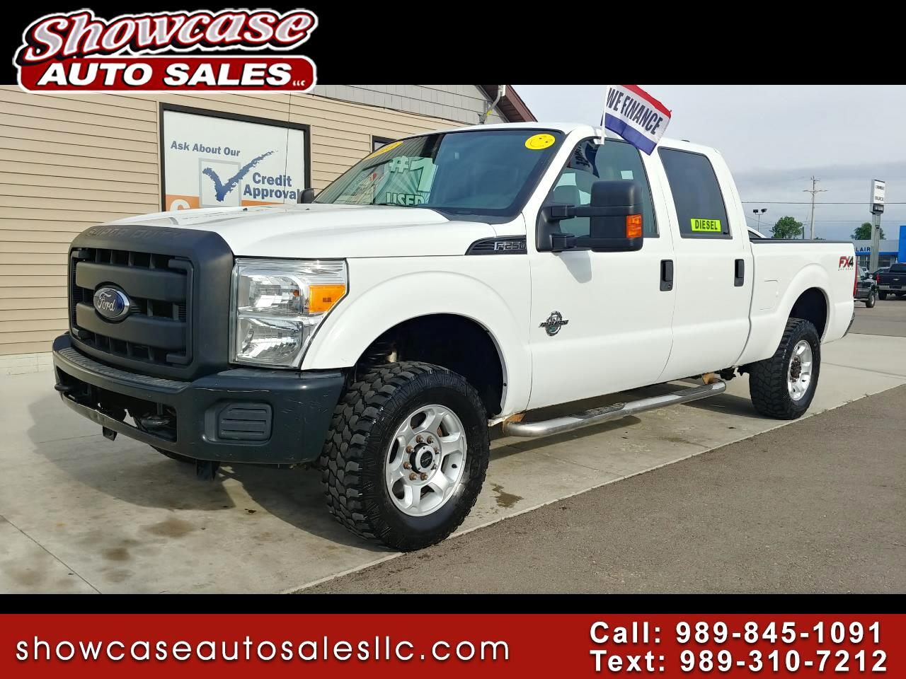 "2013 Ford Super Duty F-250 SRW 4WD Crew Cab 156"" XL"