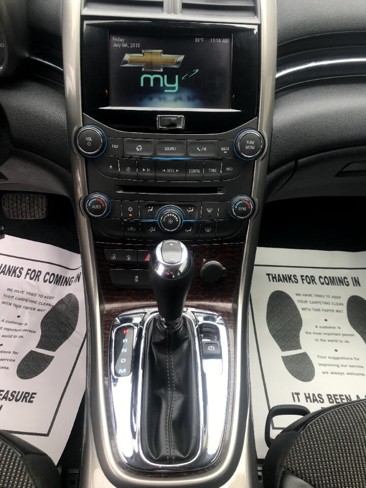 Chevrolet Malibu 4dr Sdn ECO w/1SA 2013