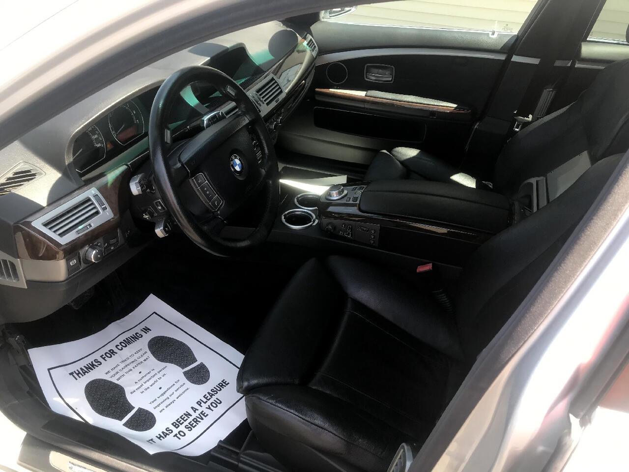 BMW 7 Series 750Li 4dr Sdn 2006
