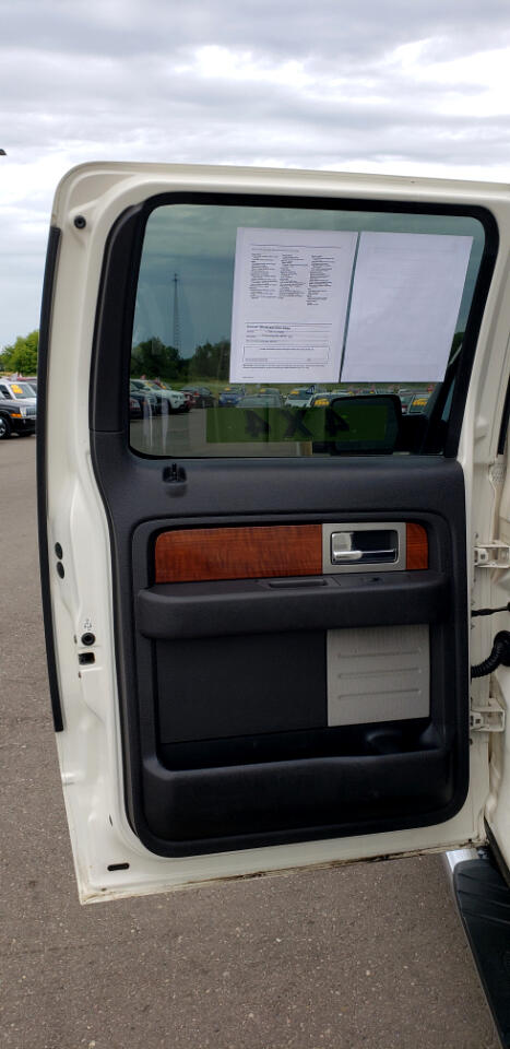 "Ford F-150 4WD SuperCrew 145"" Lariat 2009"