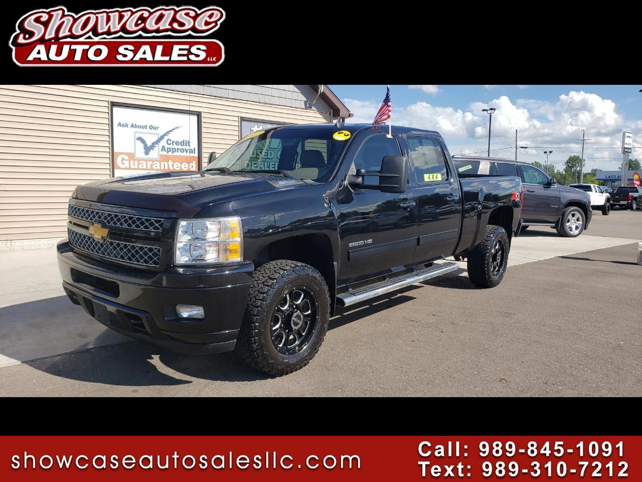 """2012 Chevrolet Silverado 2500HD 4WD Crew Cab 153.7"""" LT"""