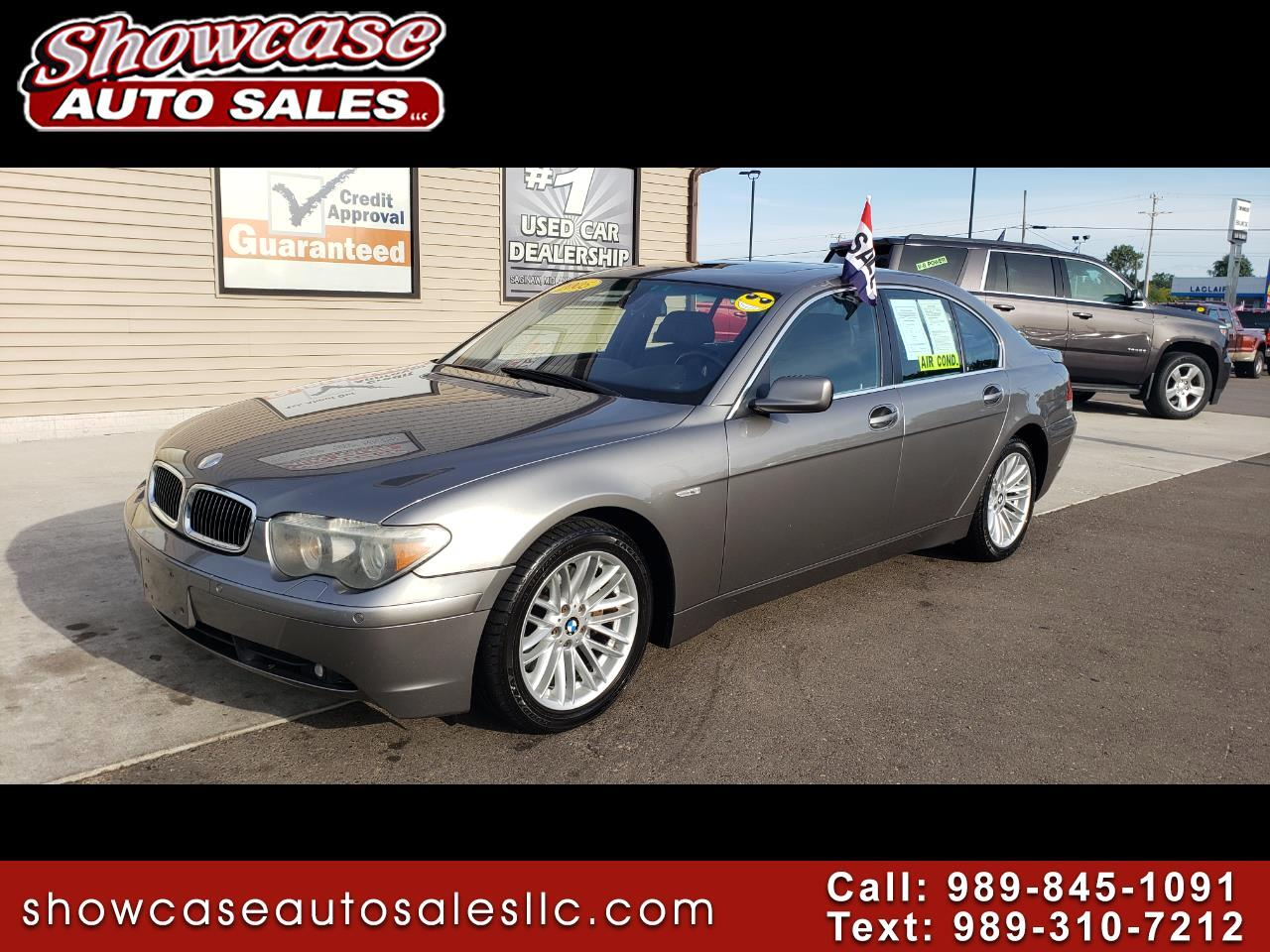 2005 BMW 7 Series 745i 4dr Sdn