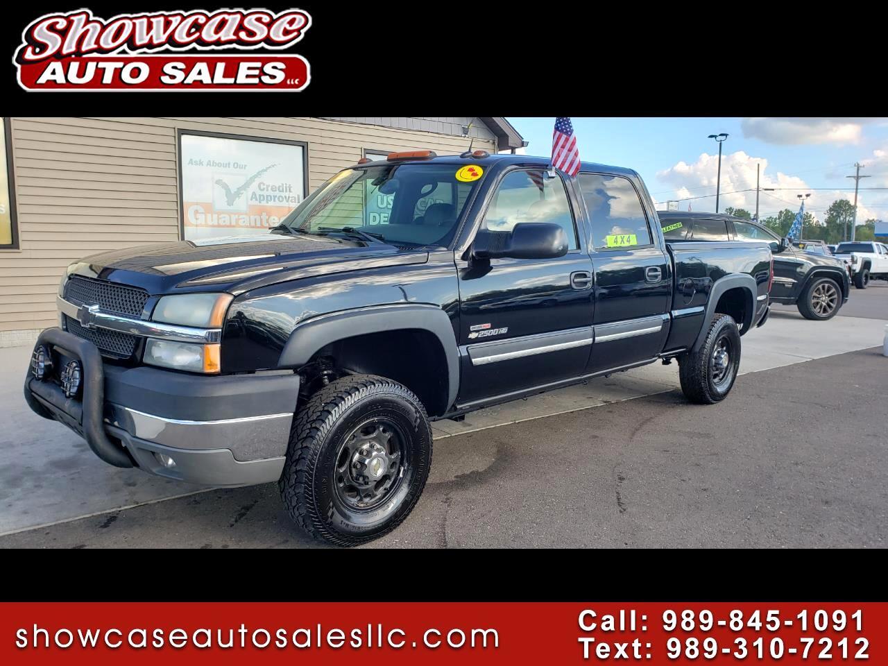 """Chevrolet Silverado 2500HD 4WD Crew Cab 153.7"""" LT 2004"""
