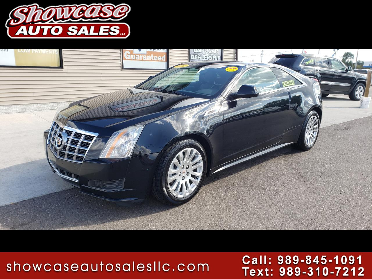 Cadillac CTS Coupe 2dr Cpe AWD 2014
