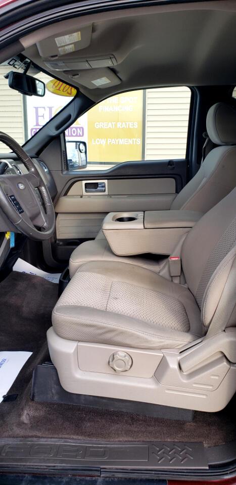 "Ford F-150 4WD SuperCrew 145"" XLT 2010"
